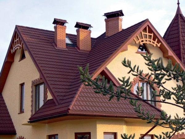 Сложная в монтаже крыша